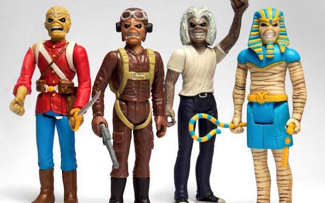 Resultado de imagem para Super 7 lança nova linha de Action Figures do Iron Maiden