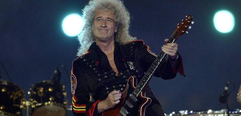 Brian May, do Queen, critica Eric Clapton por ser contra a vacina