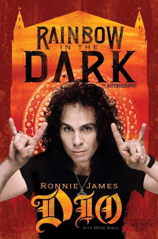 Ronnie James Dio: Biografia Rainbow In The Dark - The Autobiography Sai Em  Julho; Saiba Mais - RockBizz