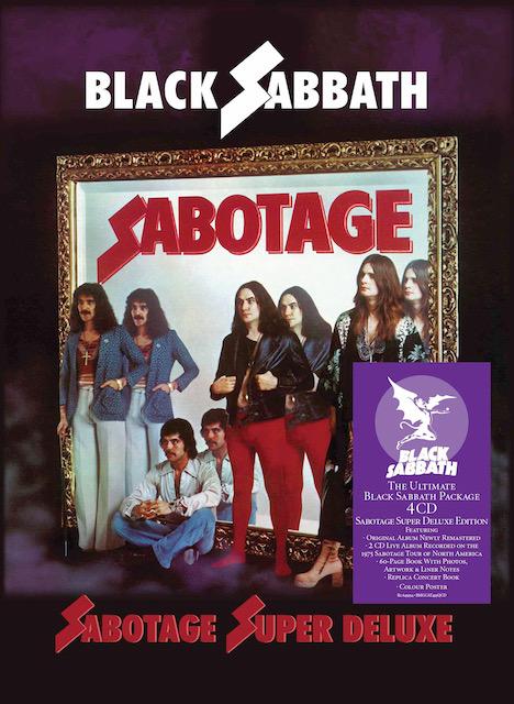 Black Sabbath Vai Lançar Edição De Luxo Do Álbum Sabotage; Saiba Mais -  RockBizz